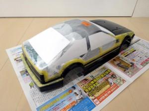 AE86塗装途中