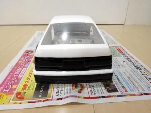 AE86塗装完了
