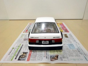 AE86塗装ステッカー完了