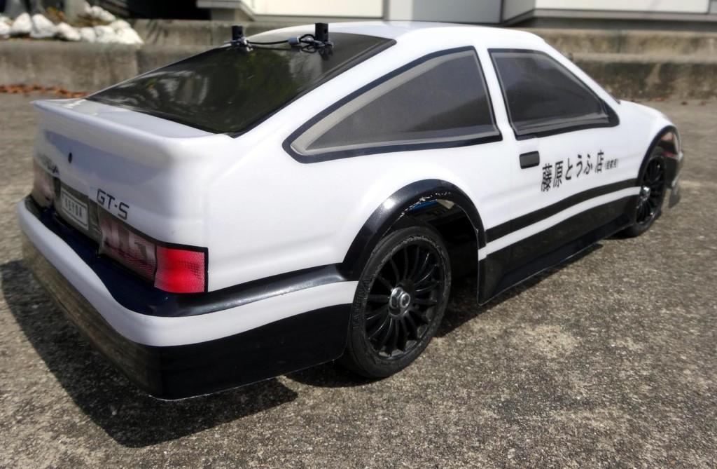 AE86塗装済ボディ
