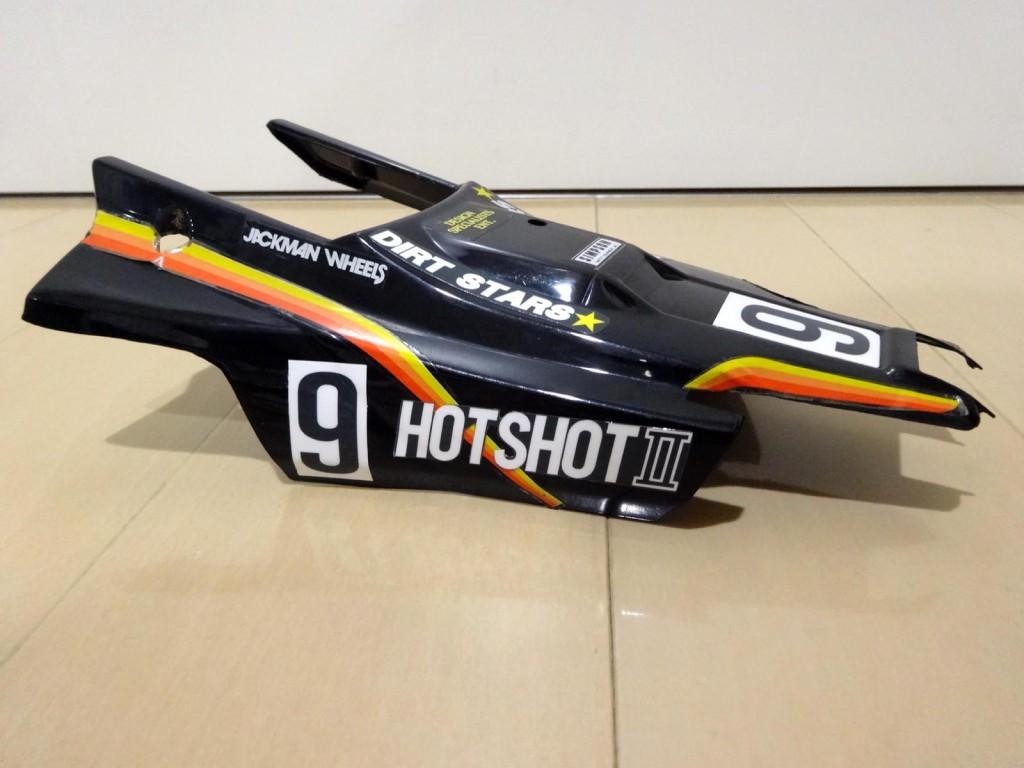 ホットショットⅡのデカール自作ボディ