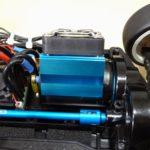 TT-02に40mmのモーター冷却ファンを搭載