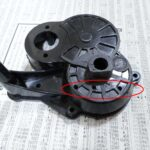 四独グラスホッパー2号機の製作3(ギヤボックスの穴あけ編)