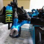 TT-02 TYPE-S(ラリー)のアルミナックルをM-05Raのものに交換
